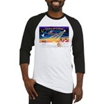 XmasSunrise/Shar Pei 5 Baseball Jersey