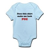 Make Me Look POZ Onesie