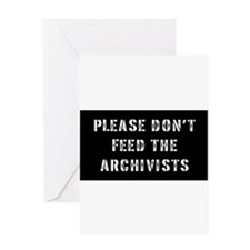 archivist Gift Greeting Card