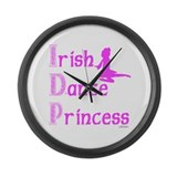 Irish Dance Princess - Large Wall Clock