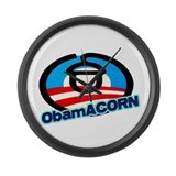 ObamACORN Large Wall Clock
