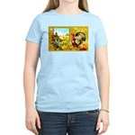 Thanksgiving Americana Women's Light T-Shirt
