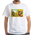 Thanksgiving Americana White T-Shirt
