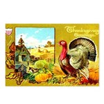 Thanksgiving Americana Postcards (Package of 8)