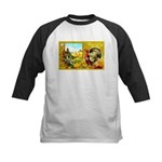 Thanksgiving Americana Kids Baseball Jersey