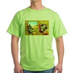 Thanksgiving Americana Green T-Shirt