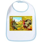Thanksgiving Americana Bib