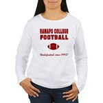 Ramapo Football Women's Long Sleeve T-Shirt