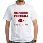 Ramapo Football White T-Shirt