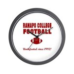 Ramapo Football Wall Clock