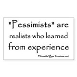 True Realists Rectangle Decal