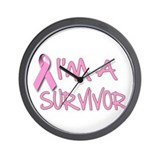 I'm a Survivor Wall Clock