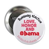 Brides for Obama button