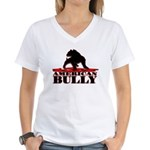 American Bully Women's V-Neck T-Shirt