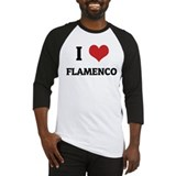 I Love Flamenco Baseball Jersey