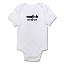 English Major Infant Bodysuit