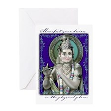 Manifest Your Desires Greeting Card