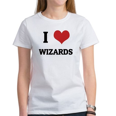 I Love Wizards Women's T-Shirt