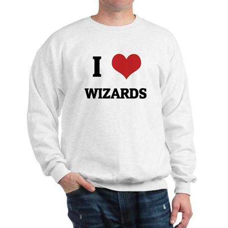 I Love Wizards Sweatshirt