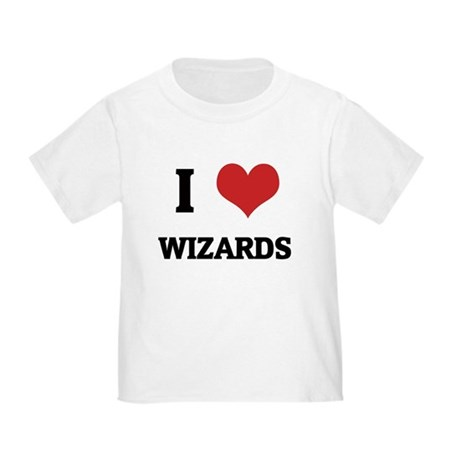 I Love Wizards Toddler T-Shirt