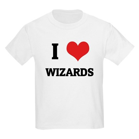 I Love Wizards Kids T-Shirt