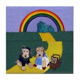 Dogs In Oz Tile Coaster