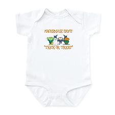 Mackenzie Says Trick or Treat Infant Bodysuit