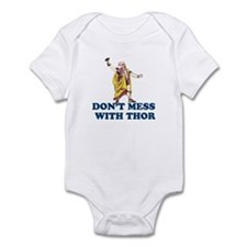 Don't Mess With Thor Infant Bodysuit