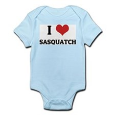 I Love Sasquatch Infant Creeper