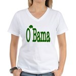 Irish For O'Bama Women's V-Neck T-Shirt