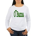 Irish For O'Bama Women's Long Sleeve T-Shirt