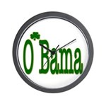 Irish For O'Bama Wall Clock