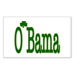 Irish For O'Bama Rectangle Sticker 50 pk)