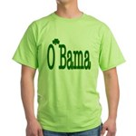 Irish For O'Bama Green T-Shirt
