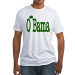 Irish For O'Bama Fitted T-Shirt
