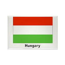 Hungary Hungarian Flag Rectangle Magnet