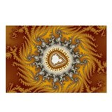 Mandelbrot fractal - Fur - Postcards (Package of 8