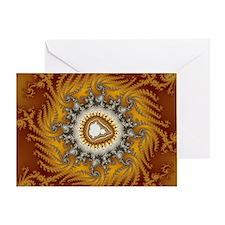 Mandelbrot fractal - Fur - Greeting Card