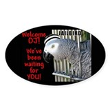 Helaine's Welcome OJ Oval Sticker (10 pk)