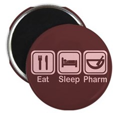 "Eat, Sleep, Pharm 2 2.25"" Magnet (100 pack)"