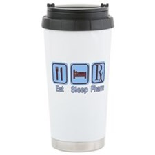 Eat, Sleep, Pharm Ceramic Travel Mug