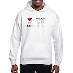 LOVE MY KIDS (PROUD PARENTS) Hooded Sweatshirt