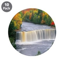 "Tahquamenon Falls 3.5"" Button (10 pack)"