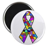 DID/MPD Awareness Ribbon Magnet