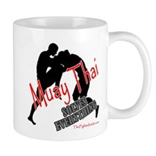 Muay Thai Solves Everything Mug