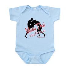 Muay Thai Fighter Infant Bodysuit
