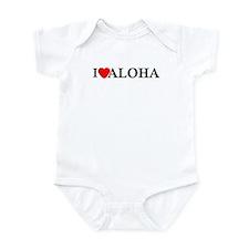 I Love Aloha Infant Bodysuit