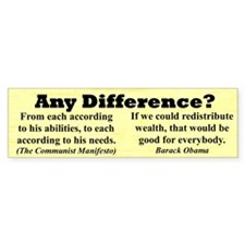 """Any Difference?"" Bumper Sticker (10 pk)"