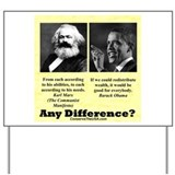 """Any Difference?"" Yard Sign"
