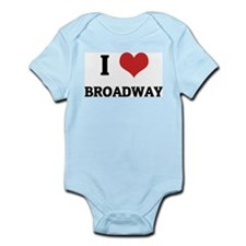 I Love Broadway Infant Creeper
